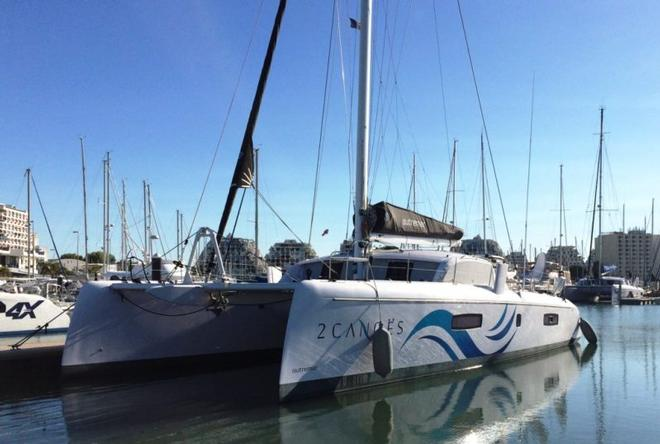 Sailing an Outremer 51 in the Mediterranean